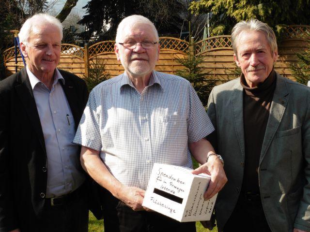 v.l.n.r.: Jochen Seifert, Hajo Bergmann und Hans Boes