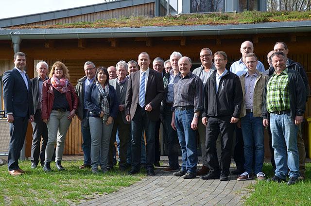 FWG besichtigt Umweltlernschule auf dem Scheid