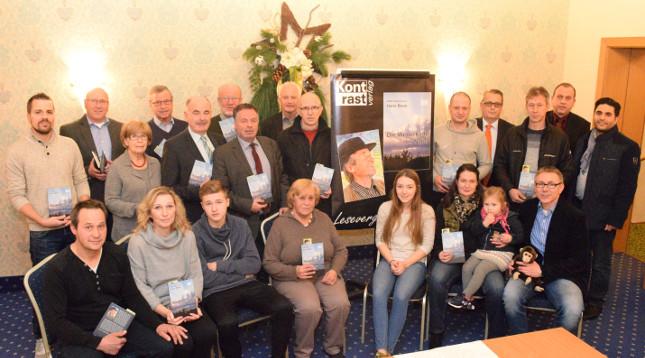 """Familie Boes und FWG präsentieren das Buch von Hans Boes """"Die Wetterkarte der Natur"""""""