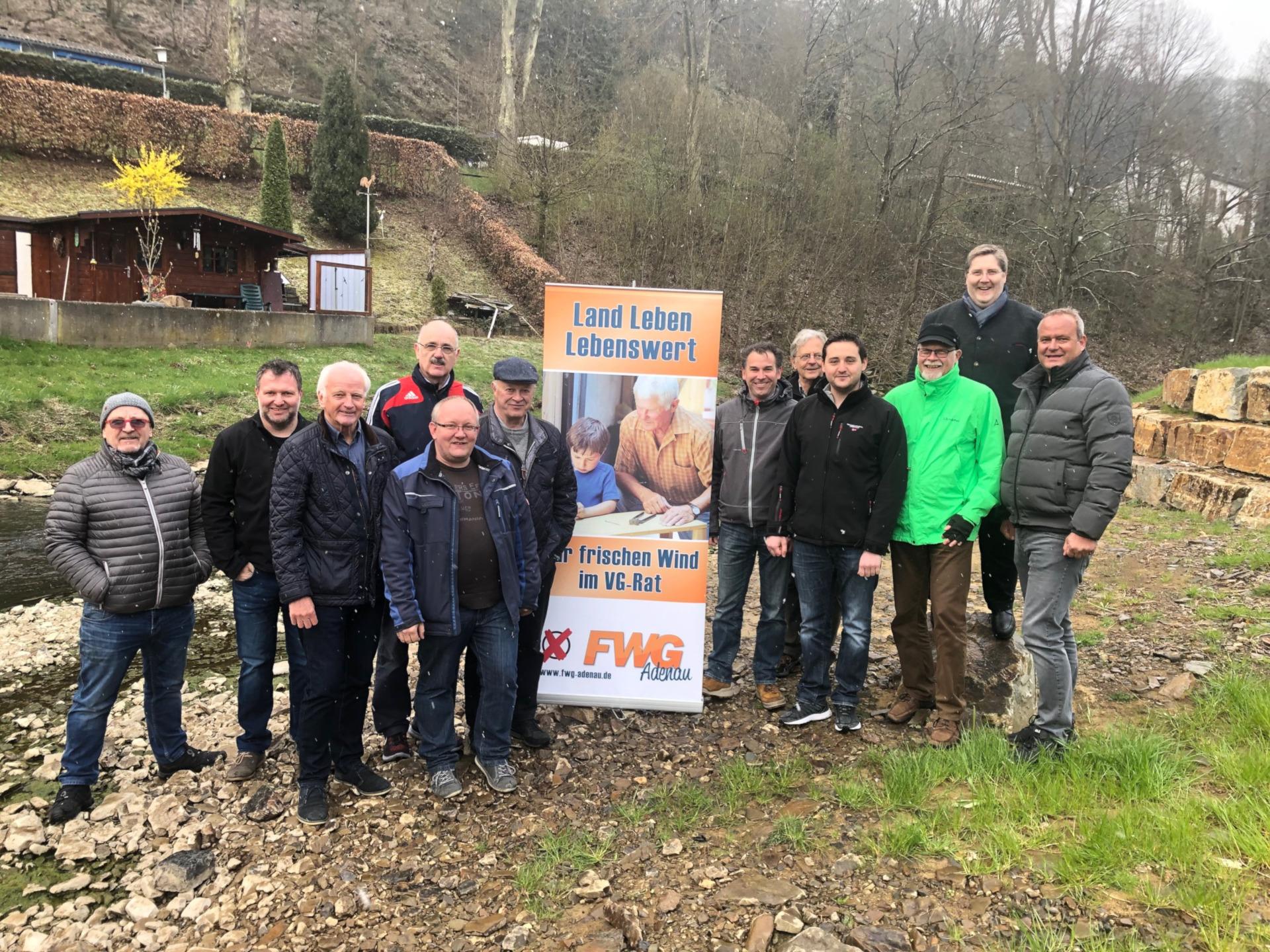 FWG Adenau will am Trierbach ein Frühwarnsystem bei Starkregen installieren
