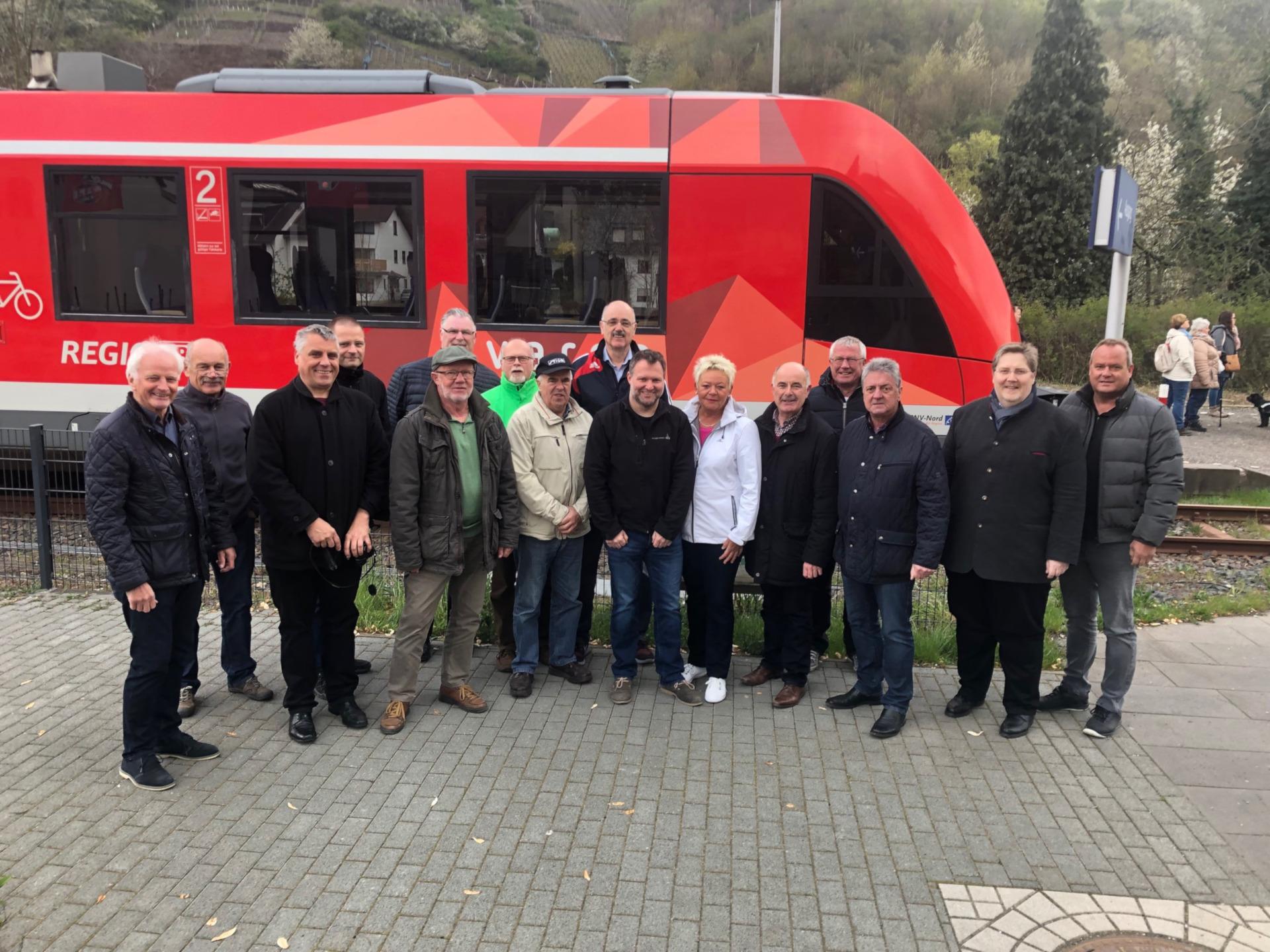 Die Freien Wähler unterstützen die Bemühungen für ein neues Antriebskonzept der Ahrtalbahn