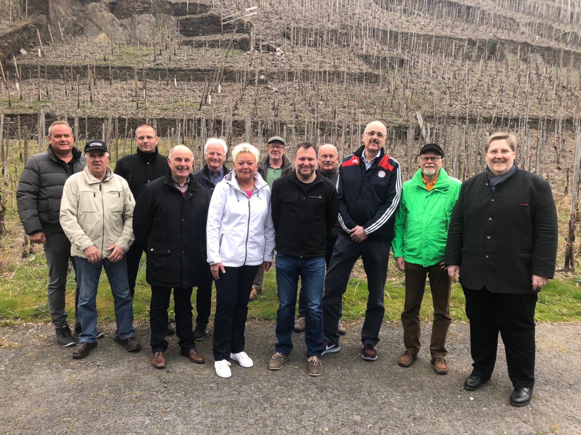 FWG Kreis Ahrweiler Mauersanierung Mayschoss 2019