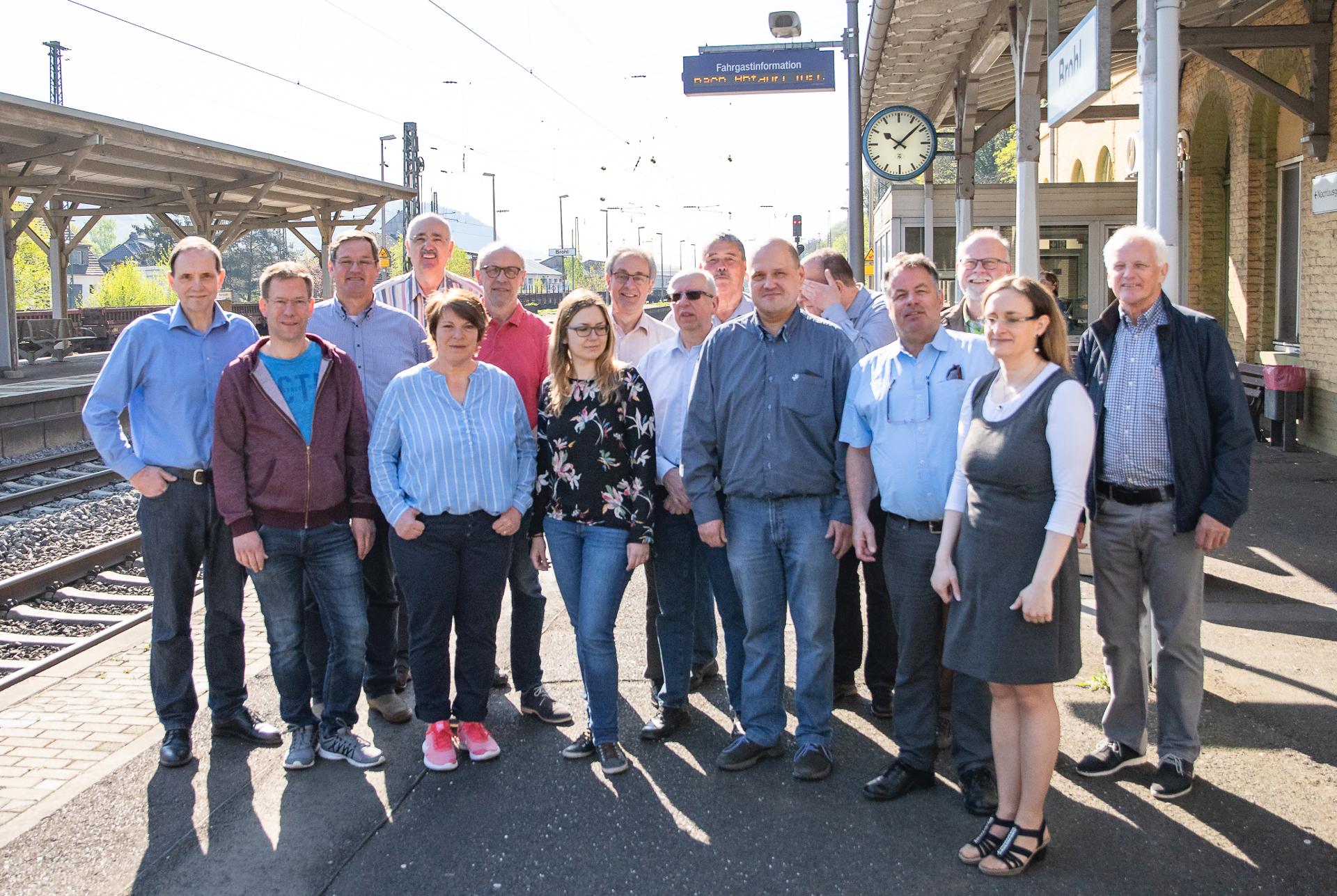 Zugausfälle der Mittelrhein-Bahn an der Rheinschiene auf Antrag der FWG-Fraktion Thema im Kreis- und Umweltausschuss