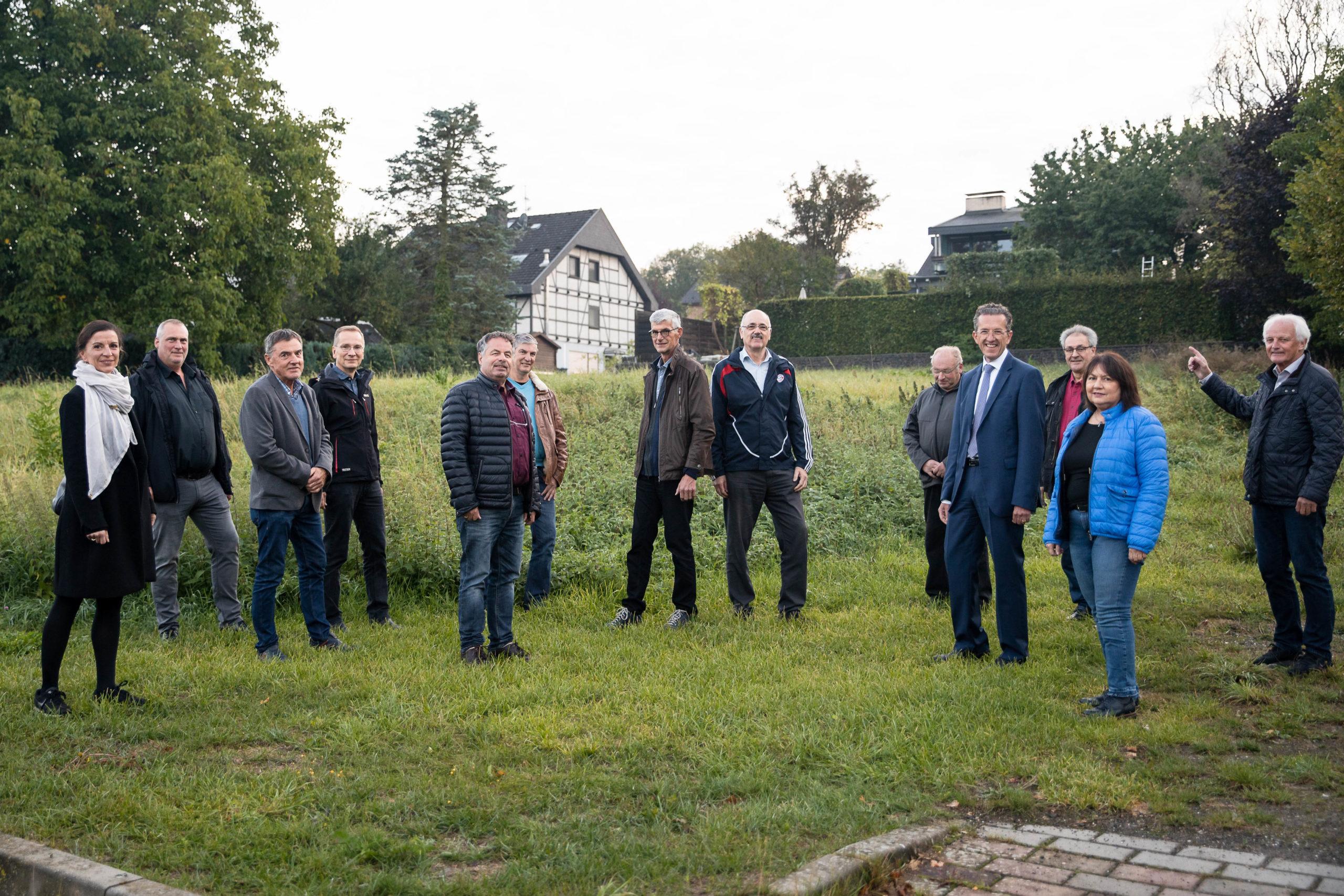 FWG besichtigt die anstehenden Kindergartenprojekte in Sinzig